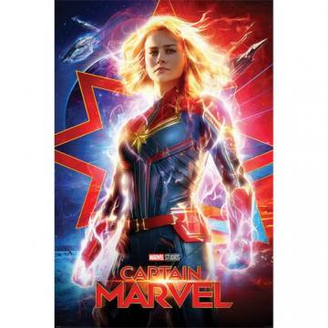Lightning-Captain Marvel 34970