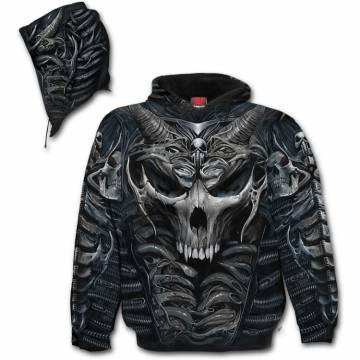 Skull Armour Allover-Spiral Direct 35075