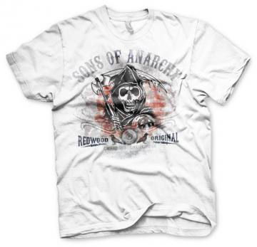Distressed Flag White-Sons Of Anarchy 35243