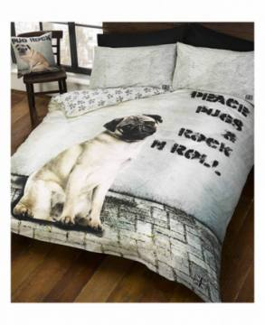 Peace Pugs&Rock'n Roll Double-Animal Planet 35297