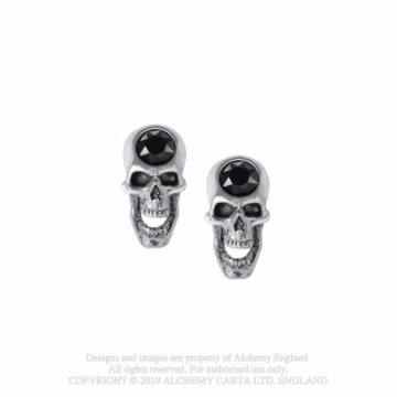 Screaming Skull studs - Alchemy Gothic 35300