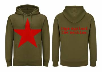 Red Star Olive Green-Rage Against The Machine 35623