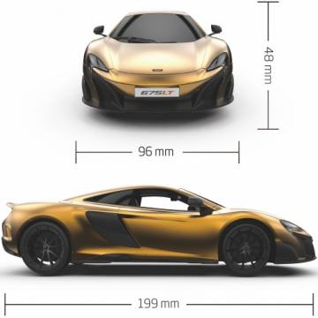Mc Laren Gold 675LT 35751