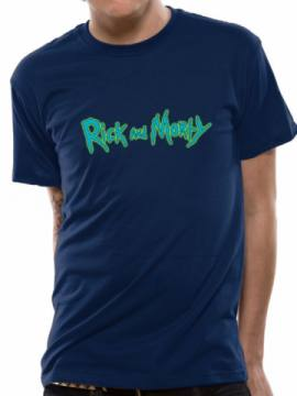 Logo Blue-Rick And Morty 35835