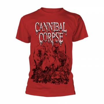 Pile Of Skulls Red-Cannibal Corpse 35849