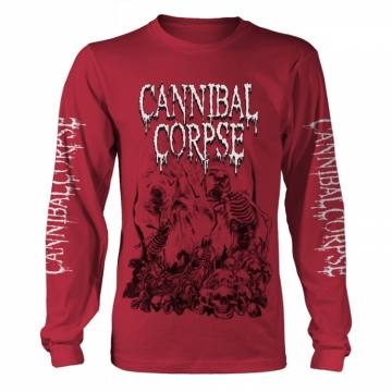 Pile Of Skulls 2018 Red-Cannibal Corpse 35854