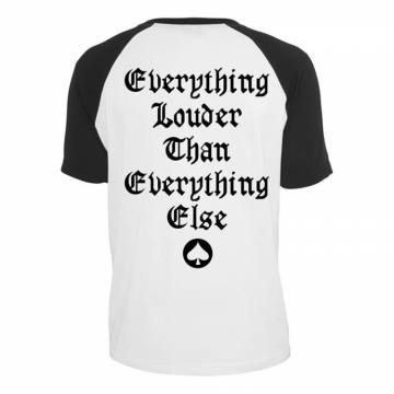 Everything Louder Raglan-Motorhead 36389