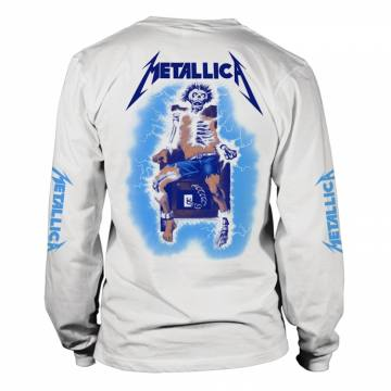 Ride The Lightning White-Metallica 36660