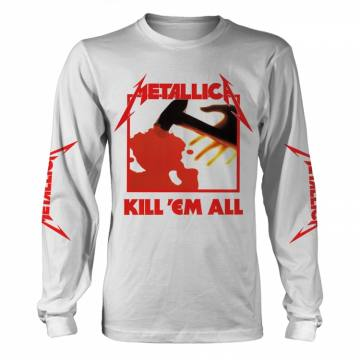 Kill Em All White-Metallica 36761