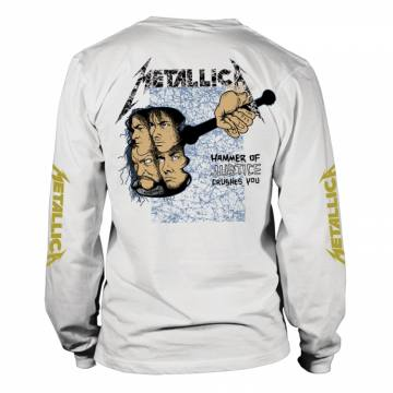 And Justice For All White--Metallica 36770