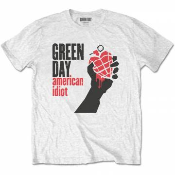 American Idiot White-Green Day 37196