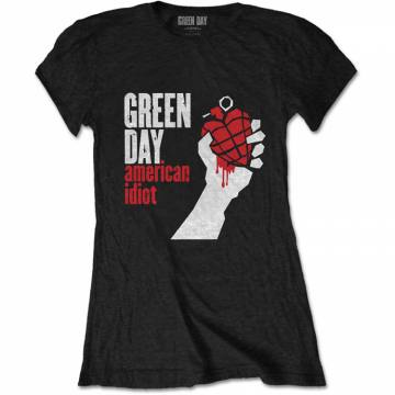 American Idiot Black-Green Day 37328