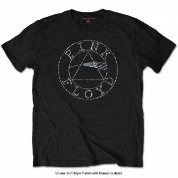 Circle Logo Diamante-Pink Floyd 38132