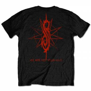 We Are Not Your Kind Red Patch-Slipknot 40284