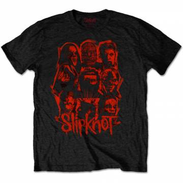 We Are Not Your Kind Red Patch-Slipknot 40285