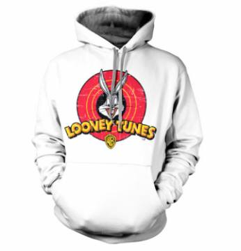 Distressed Logo- Looney Tunes-Bugs Bunny 40421
