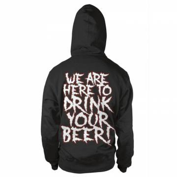 We Are Here To Drink Your Beer Logo-Alestorm 41425