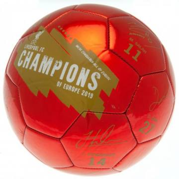 Champions Of Europe Signature -FC Liverpool 41544