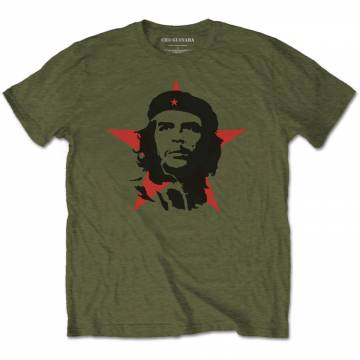 Red Star Face-Che Guevara 41913