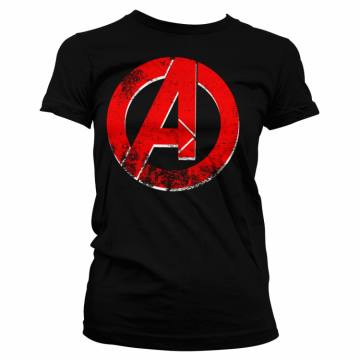 Distressed A Logo-Avengers 42477