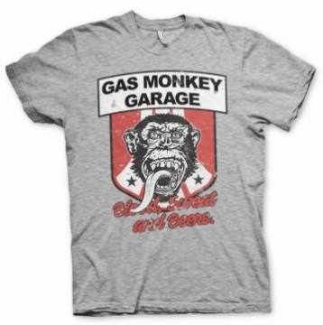 Stripes Shield-Gas Monkey Garage 44853