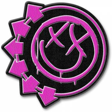 Pink Neon Six Arrows Smiley-Blink 182 46743