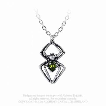 Emerald Spiderling- Alchemy Gothic 46294