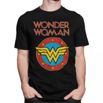 Vintage Logo-Wonder Woman 46061
