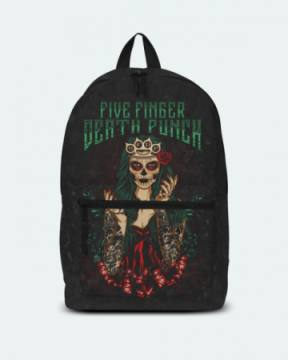 Lady Muerta Green Classic-Five Finger Death Punch 46077
