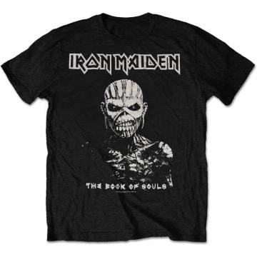 The Book Of Souls White Contrast-Iron Maiden 47184