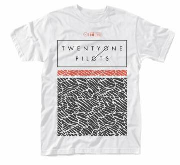 Scale Pattern Strip White-Twenty One Pilots 47520