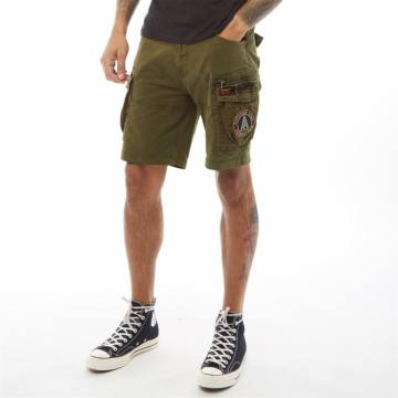 Dakota Parachute Oliv Green-Superdry 48418