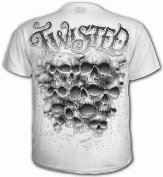 Twisted Skulls White-Spiral Direct 48994