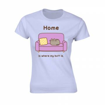 Home Is Where My Butt Is-Pusheen 48699