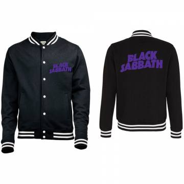 Wavy Purple Logo-Black Sabbath 51811