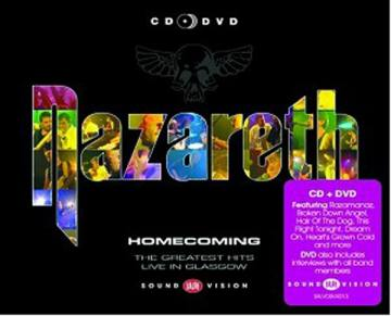 Homecoming-The Greatest Hits Live In Glasgow-Nazareth 51122