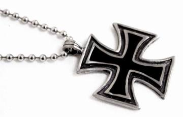 Iron Cross Ballchain 53619
