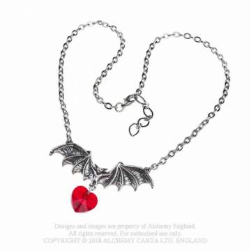 Vampire Love Heart- Alchemy Gothic 54037