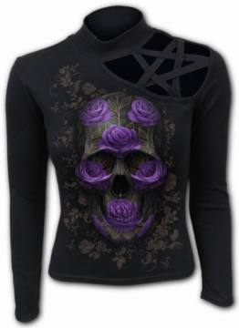 Ornate Skull-Spiral Direct 57561