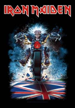Union Jack Motorcycle-Iron Maiden 57709