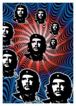 Spiral Faces-Che Guevara 57036